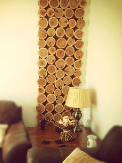 DIY Autumn inspired wall hanging