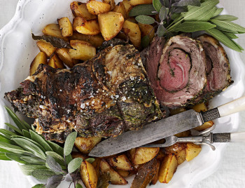 New Year's Day Rolled Rib-Eye recipe
