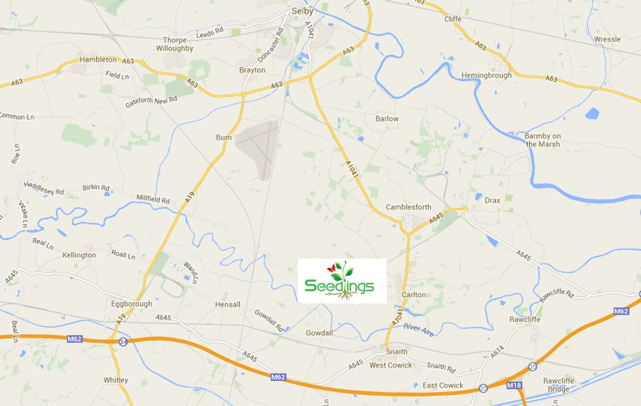 Northern Living - Seedlings - Garden Centre, Café, Farm Shop, Carlton, Goole, near Selby. Location