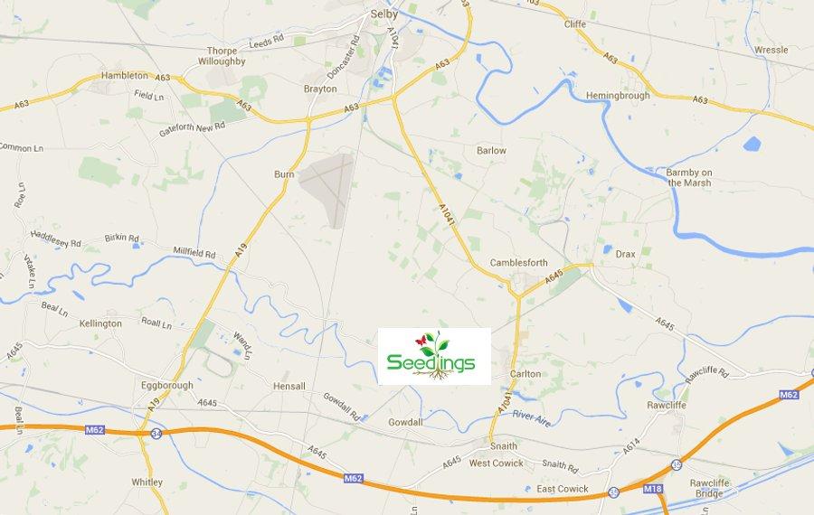 Northern Living - Seedlings - Garden Centre, Café, Farm Shop, Carlton, Goole, near Selby. Location