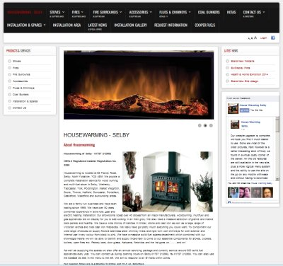 Northern Living - Responsive Content Management System upgrade - Housewarming Selby