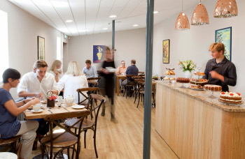 THE CAFÉ AT FIELD & FAWCETT OPENED 10 AUGUST