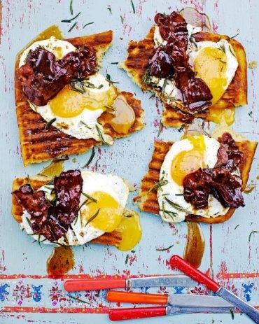 Griddle-pan waffles - Jamie Oliver