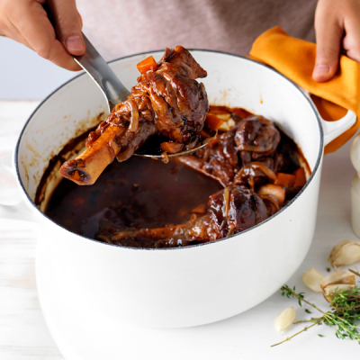 Northern Living - Lamb Shanks In Red Wine Recipe