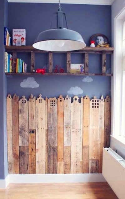 Northern Living - Shabby Chic With Old Pallets