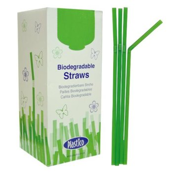 Northern Living - Biodegradable single use drinking straws - Why not?
